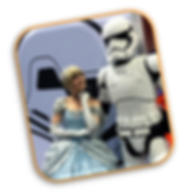 Star Wars Storm Trooper and Cinderella