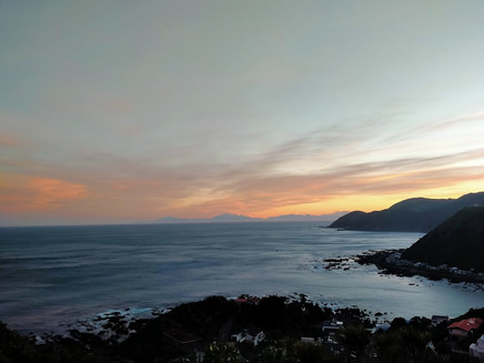 The BEST spot to watch the sunset in Wellington City