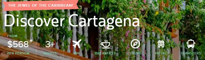 All-Inclusive trip to Cartagena Colombia