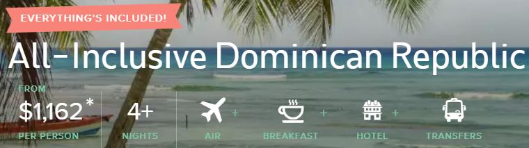 All-Inclusive trip to Punta Cana Dominican Republic