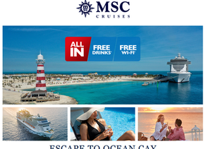 MSC Cruises - Exclusive Voyagers Club Promotion
