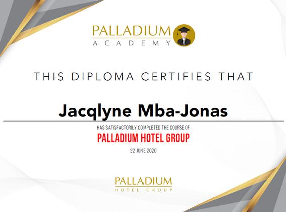 Palladuim Hotel Group Certified Travel Specialist