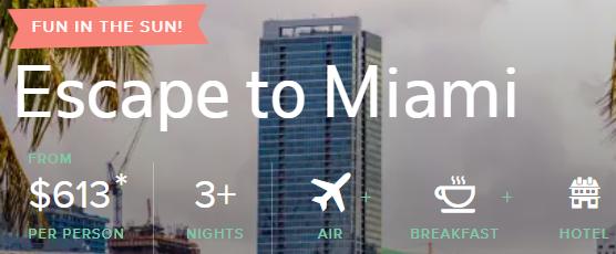 All-Inclusive trip to Miami Florida