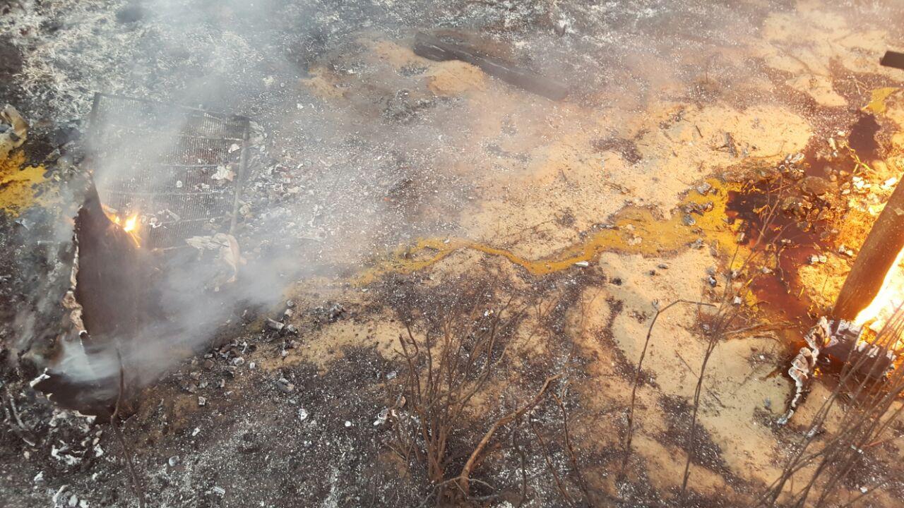 Elandsfontein fire