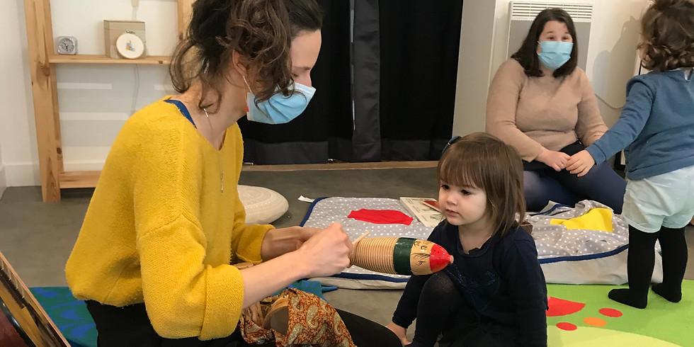 Atelier Parents - Enfant : Eveil musical 3mois - 3ans