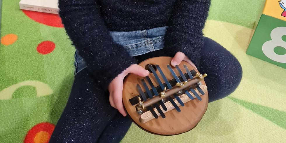 Atelier Parents - Enfant : Eveil musical 6mois - 3ans