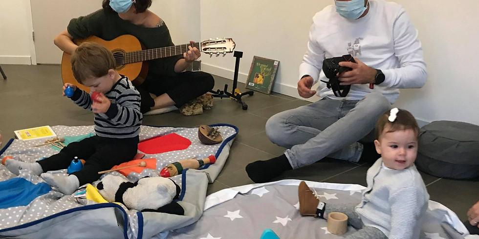 Atelier Parents Bébé : Eveil musical 1- 6mois