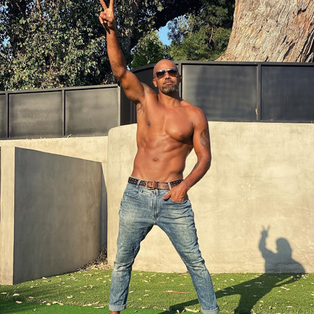 Actor Shemar Moore