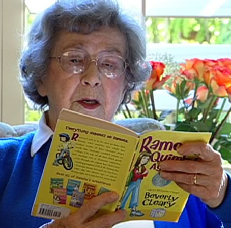 HAPPY 103rd BIRTHDAY, BEVERLY CLEARY!!