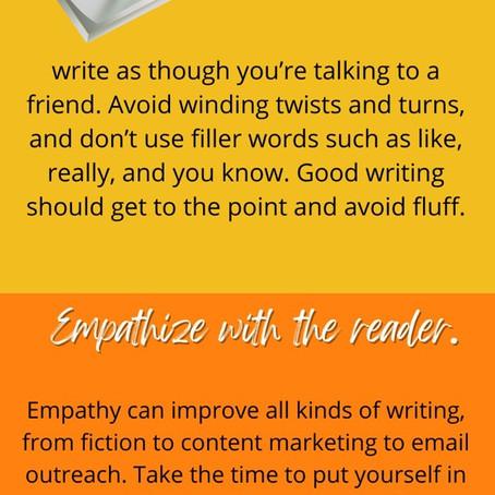 #WritersTip