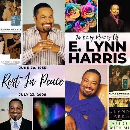 #FlashbackFriday  E.Lynn Harris