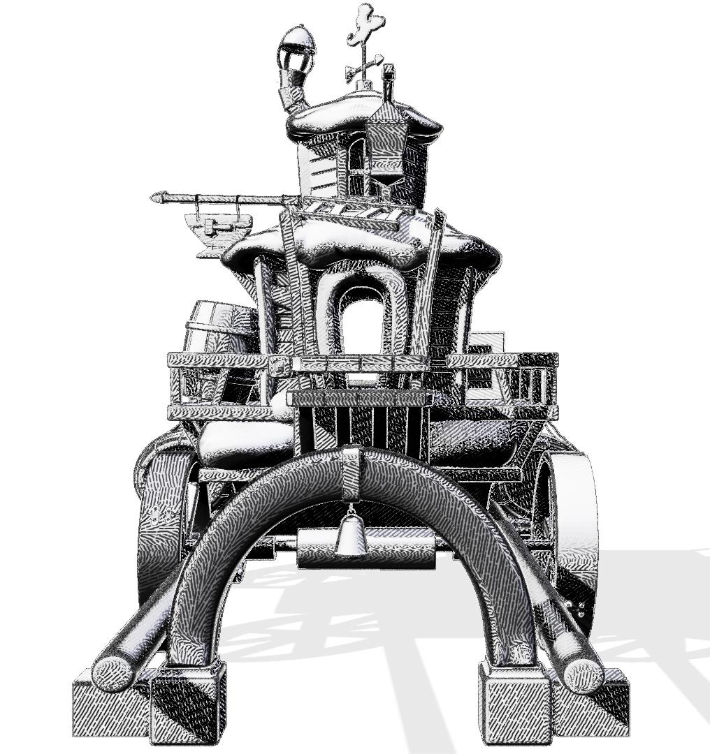 3D Sculpt-Illustration