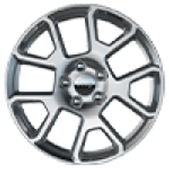 17-Inch Painted Aluminum Wheels (Latitud