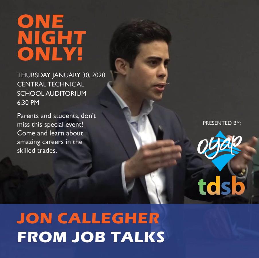 Jon Callegher TDSB