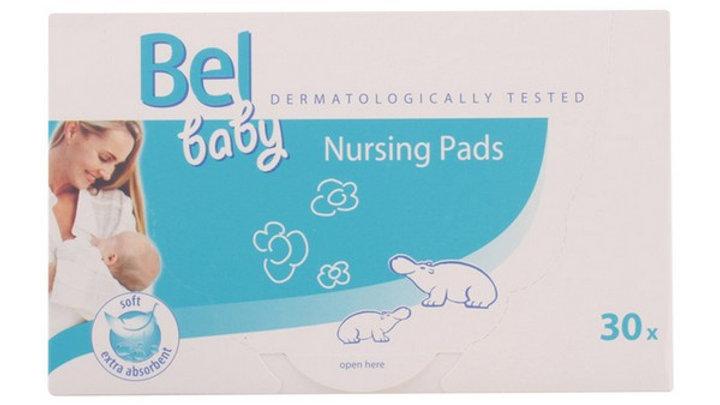 Brystputer Baby Bel (30 uds)