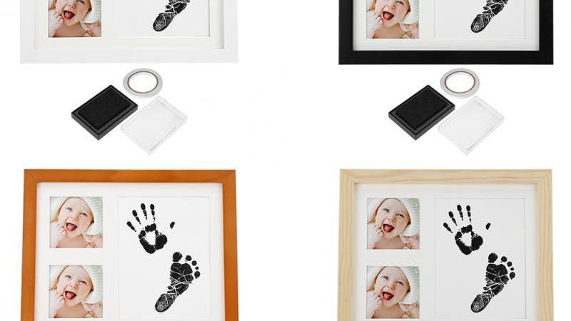 Baby Handprint Footprint Kit With
