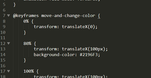 Starting with The JavaScript Web Animation API