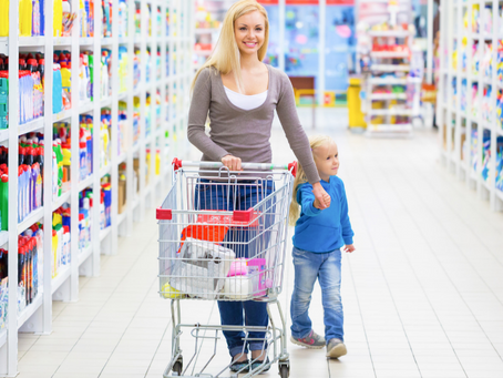 How to Train Your Child to Behave at the Grocery Store: Sample Training Session