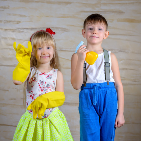 5 Reasons Children NEED to Do Chores