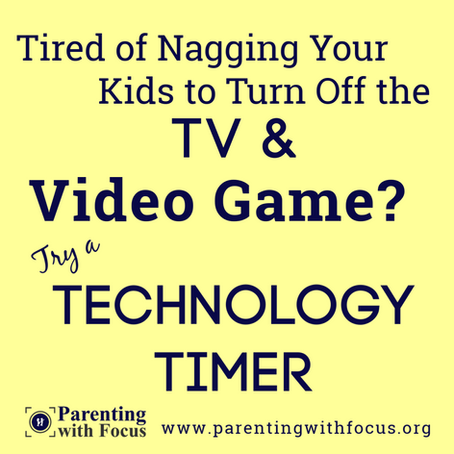 Technology Timers Help Prevent Too Much Screen Time