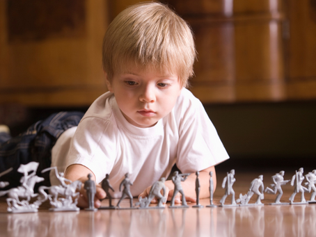 How to Train Kids to Clean Up Their Toys: Sample Training Session