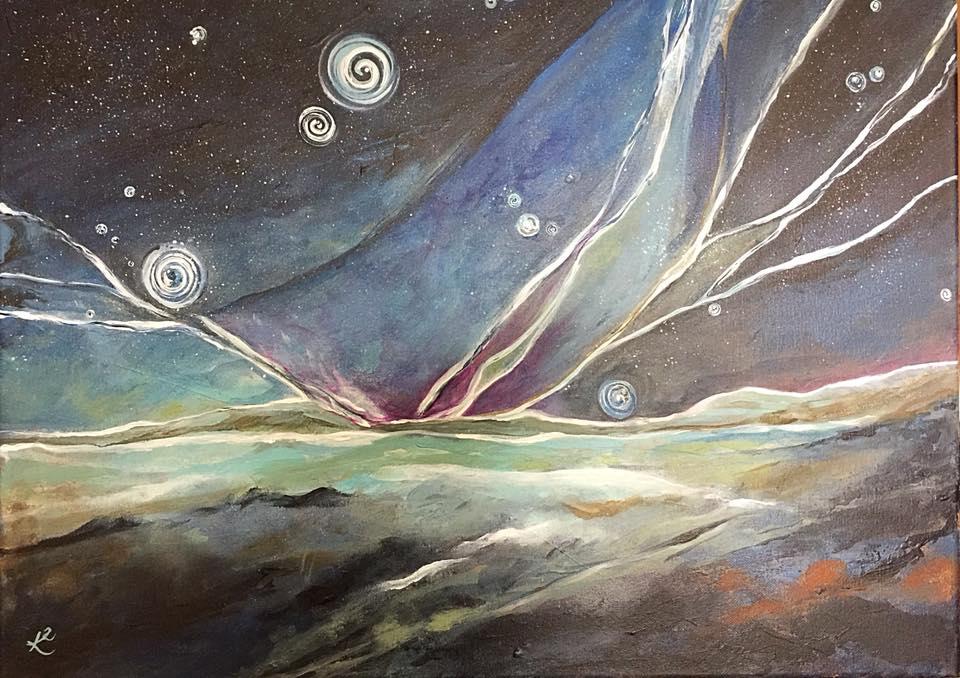 Starry Northern Night