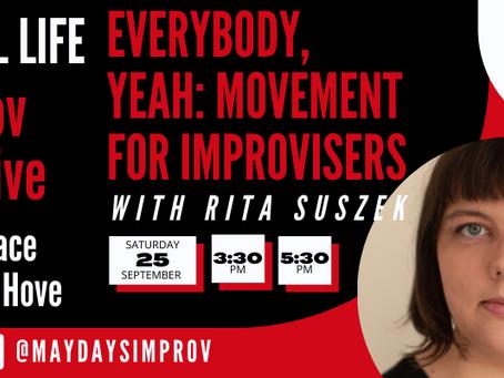 EveryBody, Yeah! Teaching Improv with The Maydays, 26.09., Brighton