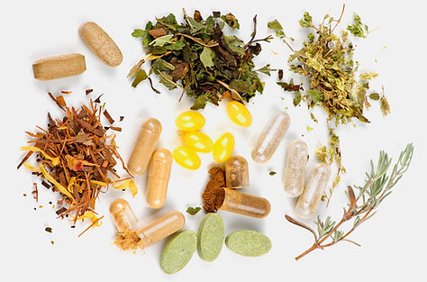 Natural herbs and supplements that may be used for treatment