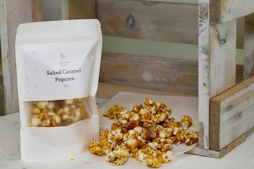 Salted Caramel Popcorn by Magnolia Kitchen