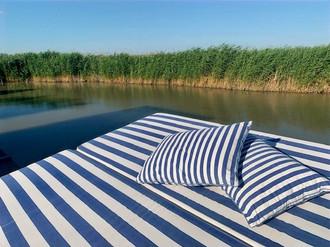 Das Sonnendeck der Seehütte am Neusiedlersee