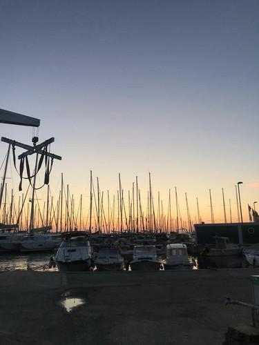 Der Hafen von Rust