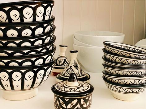 Marokko Keramik am See.