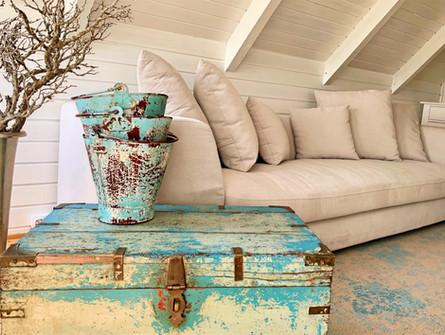 Inneneinrichtung mit Sofa
