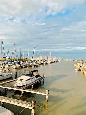 Der Ruster Hafen