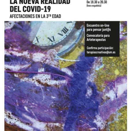 Conferencia de Paco Coll sobre las consecuencias del COVID-19 en personas de 3a edad.