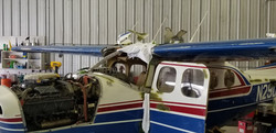 Removed Windshield From Cessna P210N