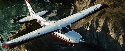 N980YG Silver Eagle Flying