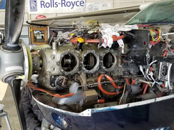 Cessna T210 Cylinders Removed