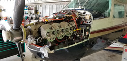 Cessna T210 Cylinder Head Removed