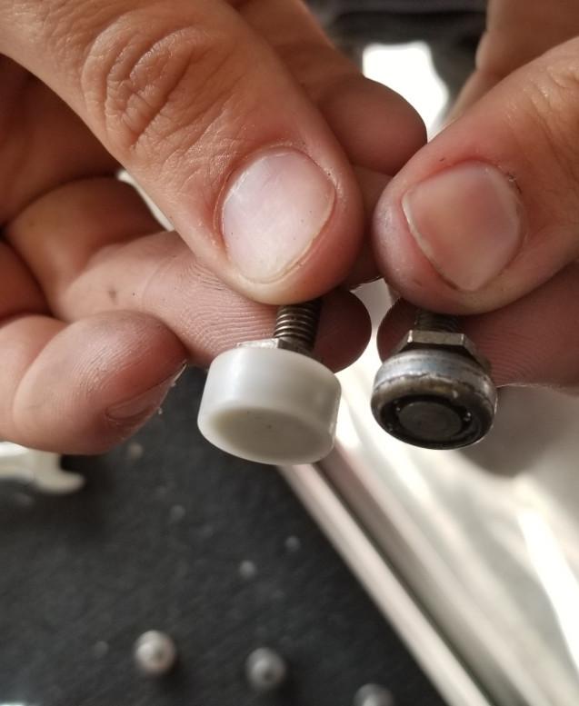 Yoke Roller Bearings   New Vs Old