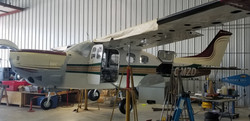 Cessna P210N With New Gear Doors