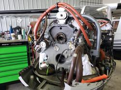 Rolls Royce 250B17F2 Turbine Engine Without Compressor