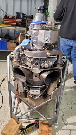Rolls Royce 250B17F2 Turbine Engine Model