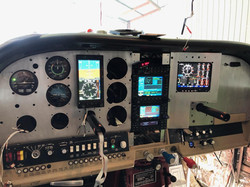 Cessna P210N New Panel Fit