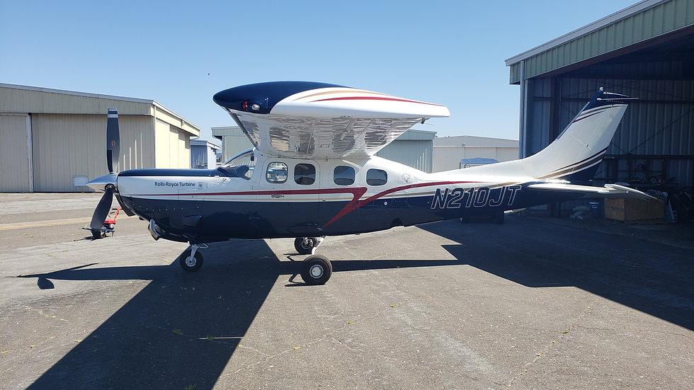 Cessna 1980 Silver Eagle N210JT