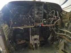 Cessna P210N Panel Torn Apart
