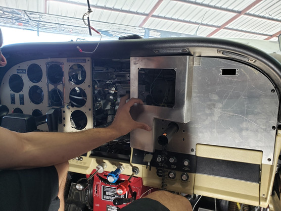 Fitting New Panels