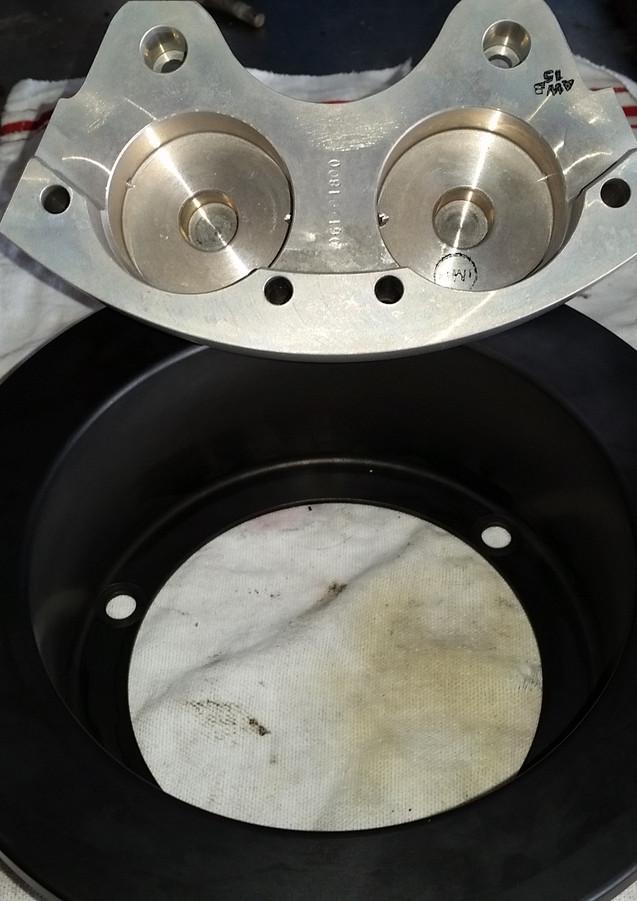New Brake Caliper
