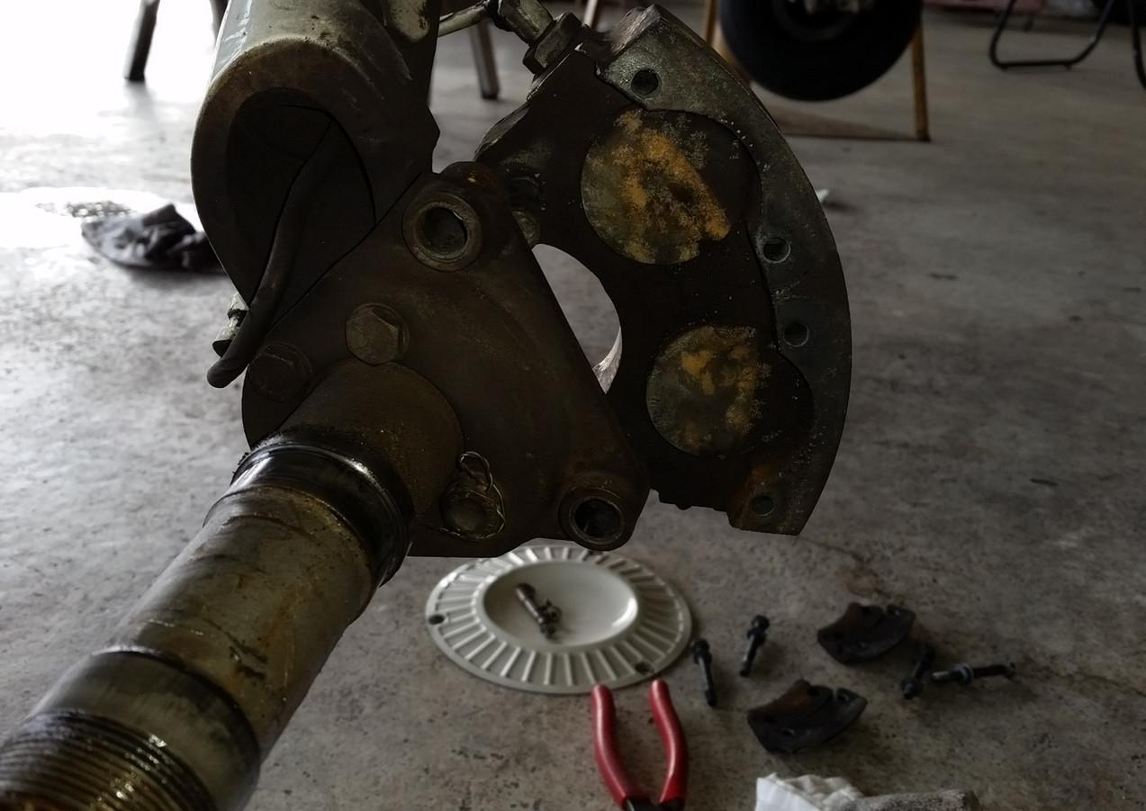 Old Brake Caliper
