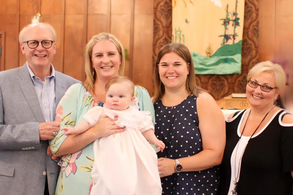 Joyce baptism